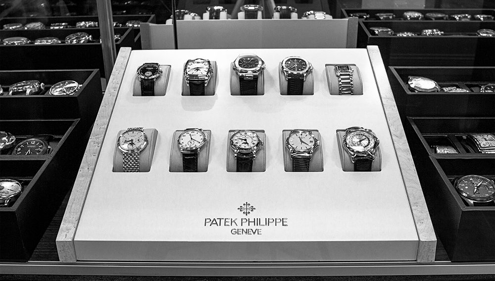 Patek Philippe in Showcase