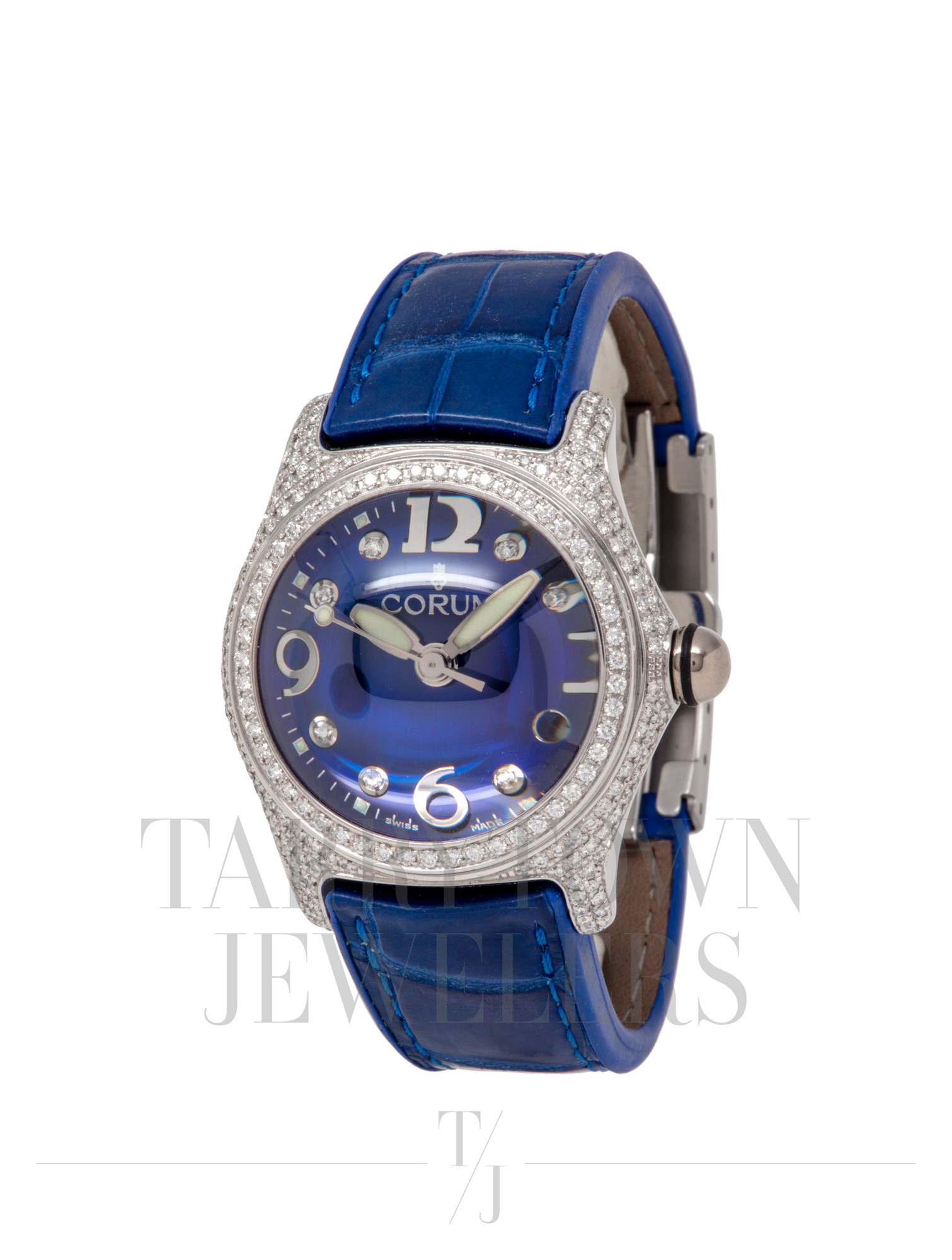 Midsize  Diamond Bubble Watch