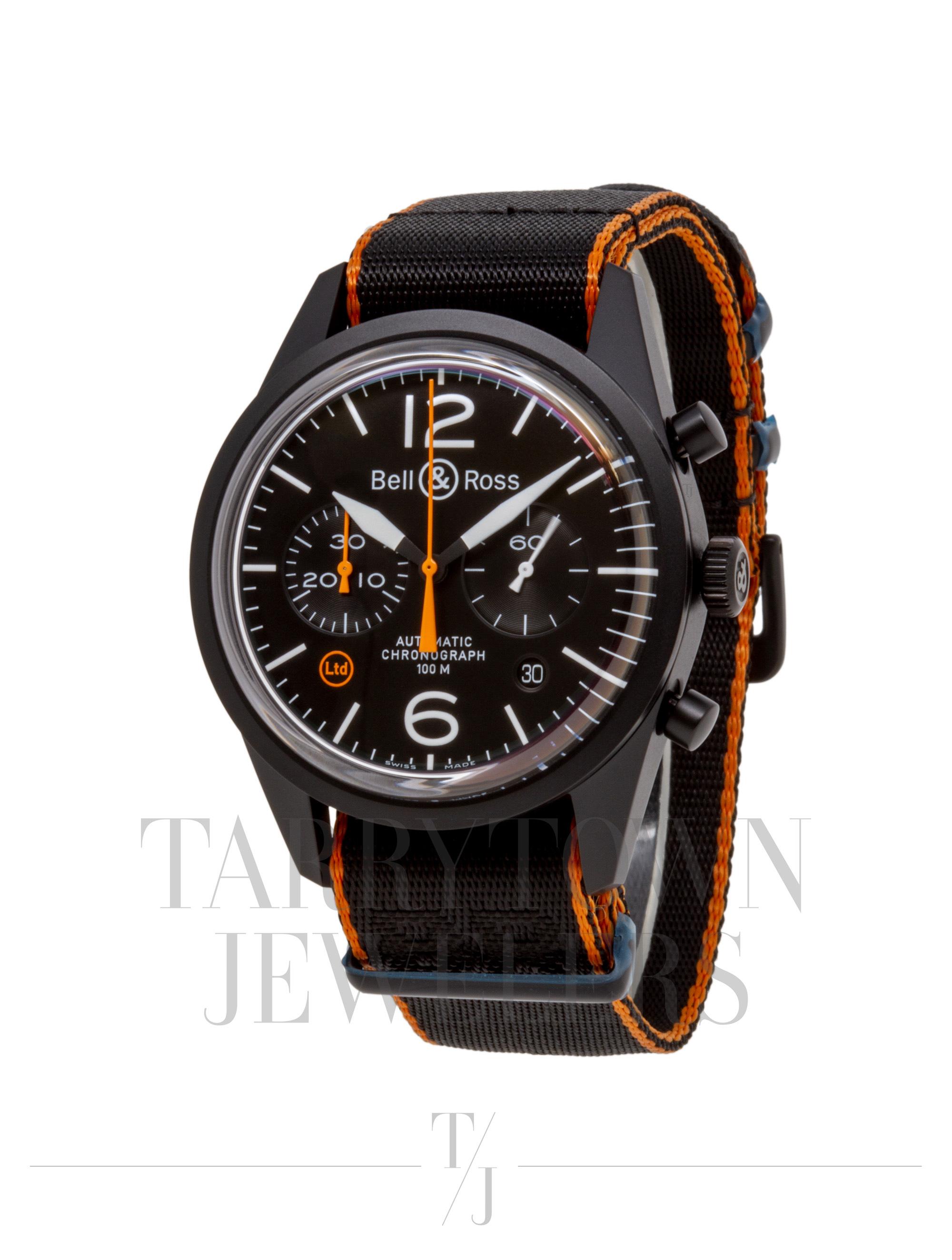 Bell & Ross BR126 Carbon Orange